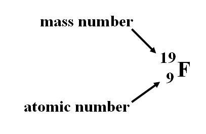 Fluorine Atom Protons Neutrons ElectronsAtomic Number Example