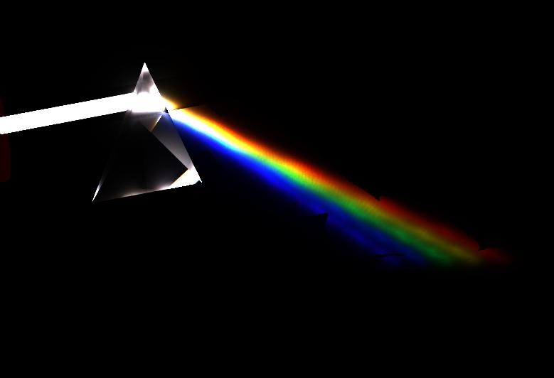 prism reflecting light A prism is notable for its ability to reflect the ray path without the need for a  special coating, such as that required when.