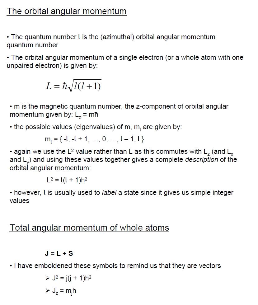 Quantum angular momentum ccuart Images