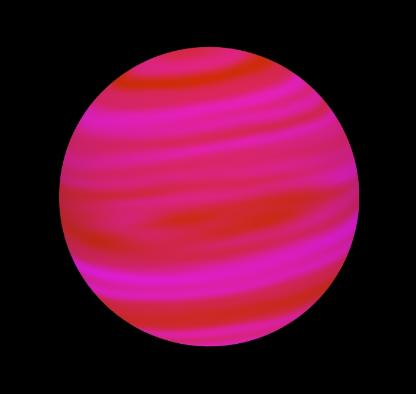 brown dwarf type 2 with banded atmosphere