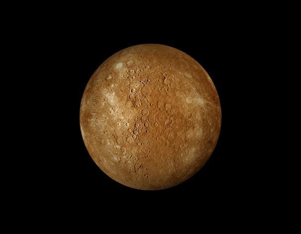 planet mercury surface gravity - photo #13